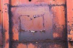 Σκουριασμένο υγρό υπόβαθρο metall Grunge Στοκ φωτογραφία με δικαίωμα ελεύθερης χρήσης