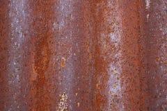 Σκουριασμένο υπόβαθρο σύστασης χάλυβα Στοκ Φωτογραφία