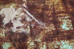 σκουριασμένο φύλλο μετάλλων Στοκ φωτογραφίες με δικαίωμα ελεύθερης χρήσης