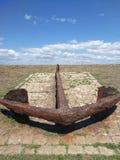 Σκουριασμένο ancher Στοκ φωτογραφία με δικαίωμα ελεύθερης χρήσης