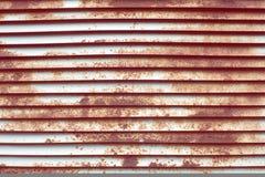Σκουριασμένο louver τεμάχιο στοκ φωτογραφία με δικαίωμα ελεύθερης χρήσης