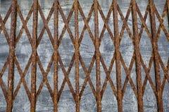Σκουριασμένο trellis σιδήρου Στοκ Εικόνα