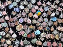 Σκουλαρίκια στο ουκρανικό ύφος Στοκ εικόνα με δικαίωμα ελεύθερης χρήσης