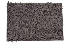 Σκούρο γκρι doormat Στοκ φωτογραφίες με δικαίωμα ελεύθερης χρήσης