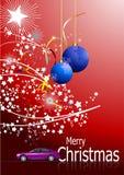 Σκούρο κόκκινο αφηρημένο υπόβαθρο Χριστουγέννων απεικόνιση αποθεμάτων
