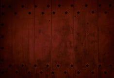 Σκούρο κόκκινο παλαιά ξύλινη σανίδα Στοκ φωτογραφία με δικαίωμα ελεύθερης χρήσης