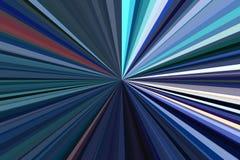 Σκούρο μπλε ακτίνες χρώματος του ελαφριού αφηρημένου υποβάθρου Σχέδιο ακτίνων λωρίδων Μοντέρνα χρώματα τάσης απεικόνισης σύγχρονα Στοκ εικόνα με δικαίωμα ελεύθερης χρήσης