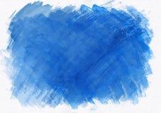 Σκούρο μπλε οριζόντιο συρμένο χέρι υπόβαθρο κλίσης watercolor Αυτό ` s χρήσιμο για το γραφικό σχέδιο, σκηνικά, τυπωμένες ύλες, τα στοκ εικόνα