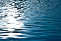 Σκούρο μπλε ύδωρ Στοκ φωτογραφίες με δικαίωμα ελεύθερης χρήσης