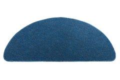 Σκούρο μπλε doormat Στοκ εικόνα με δικαίωμα ελεύθερης χρήσης