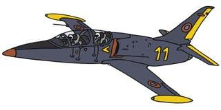 Σκούρο μπλε αεροσκάφη Στοκ Φωτογραφίες