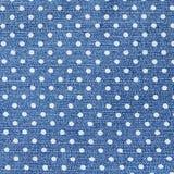 Σκούρο μπλε θηλυκά τζιν - δομή υφάσματος Στοκ Εικόνες