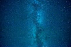 Σκούρο μπλε ουρανός νύχτας Στοκ φωτογραφία με δικαίωμα ελεύθερης χρήσης