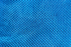 Σκούρο μπλε σύσταση της κινηματογράφησης σε πρώτο πλάνο αθλητικού υφάσματος πλέγματος Στοκ φωτογραφίες με δικαίωμα ελεύθερης χρήσης