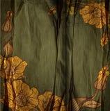 Σκούρο πράσινο εκλεκτής ποιότητας διάνυσμα συγχαρητηρίων    Στοκ Φωτογραφία