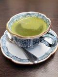 σκούρο πράσινο ιαπωνικό τσάι Στοκ εικόνα με δικαίωμα ελεύθερης χρήσης