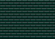 Σκούρο πράσινο κεραμικό υπόβαθρο σύστασης κεραμιδιών μωσαϊκών ελεύθερη απεικόνιση δικαιώματος