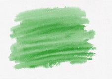 Σκούρο πράσινο κτυπήματα βουρτσών κλίσης watercolor Όμορφο αφηρημένο υπόβαθρο για τους σχεδιαστές, πρότυπα, invita tions στοκ εικόνα με δικαίωμα ελεύθερης χρήσης
