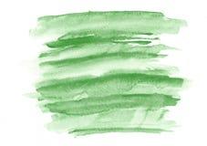 Σκούρο πράσινο κτυπήματα βουρτσών κλίσης watercolor Όμορφο αφηρημένο υπόβαθρο για τους σχεδιαστές, πρότυπα, προσκλήσεις στοκ φωτογραφία με δικαίωμα ελεύθερης χρήσης
