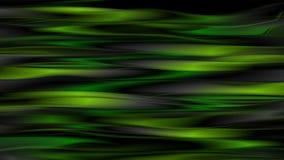 Σκούρο πράσινο ομαλή στιλπνή τηλεοπτική ζωτικότητα λωρίδων διανυσματική απεικόνιση