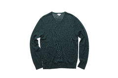 Σκούρο πράσινο πουλόβερ Στοκ φωτογραφία με δικαίωμα ελεύθερης χρήσης