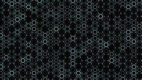 Σκούρο πράσινο hexagon σχέδιο Σύγχρονος τρισδιάστατος δίνει την ομαλή ζωτικότητα Άνευ ραφής αφηρημένο υπόβαθρο βρόχων απεικόνιση αποθεμάτων