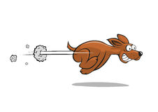 σκυλί γρήγορα διανυσματική απεικόνιση