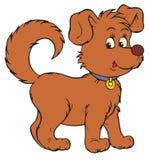 Σκυλί (διανυσματική συνδετήρας-τέχνη) διανυσματική απεικόνιση