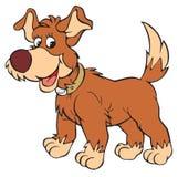 Σκυλί (διανυσματική συνδετήρας-τέχνη) απεικόνιση αποθεμάτων