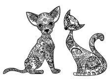 Σκυλί και γάτα Στοκ εικόνες με δικαίωμα ελεύθερης χρήσης