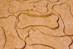 σκυλί κόκκαλων μπισκότων Στοκ φωτογραφίες με δικαίωμα ελεύθερης χρήσης
