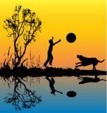 σκυλί το παιχνίδι μου Στοκ φωτογραφίες με δικαίωμα ελεύθερης χρήσης