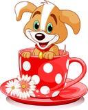 σκυλί φλυτζανιών διανυσματική απεικόνιση
