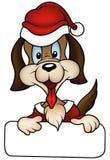 σκυλί Χριστουγέννων απεικόνιση αποθεμάτων