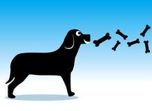 σκυλί ελεύθερη απεικόνιση δικαιώματος