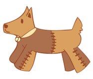 σκυλί peluche Στοκ φωτογραφία με δικαίωμα ελεύθερης χρήσης