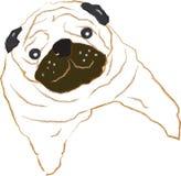 Σκυλί μαλαγμένου πηλού Στοκ φωτογραφίες με δικαίωμα ελεύθερης χρήσης
