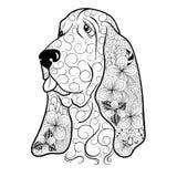 Σκυλί doodle Στοκ Εικόνες