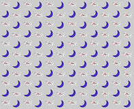Σκυλιά και φεγγάρι Στοκ Φωτογραφία