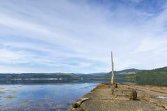 Σκωτία: Θαυμάσιο νερό Στοκ εικόνα με δικαίωμα ελεύθερης χρήσης
