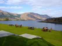 Σκωτία - οι λίμνες Χάιλαντς Στοκ φωτογραφία με δικαίωμα ελεύθερης χρήσης