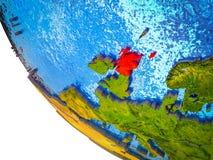 Σκωτία στην τρισδιάστατη γη απεικόνιση αποθεμάτων