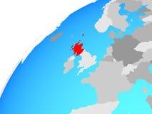 Σκωτία στη σφαίρα διανυσματική απεικόνιση