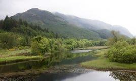 Σκωτσέζικες ορεινές περιοχές Στοκ εικόνα με δικαίωμα ελεύθερης χρήσης
