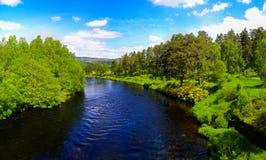 Σκωτσέζικη επαρχία Στοκ φωτογραφία με δικαίωμα ελεύθερης χρήσης