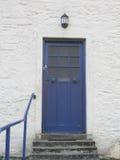Σκωτσέζικη μπροστινή πόρτα Στοκ φωτογραφία με δικαίωμα ελεύθερης χρήσης