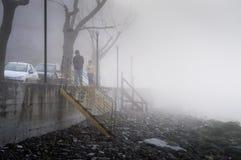 Σκωτσέζικη υδρονέφωση στη χώρα Τουρκία Στοκ Εικόνες