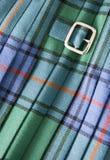 σκωτσέζικη φούστα Στοκ εικόνα με δικαίωμα ελεύθερης χρήσης