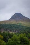 Σκωτσέζικοι λόφοι Στοκ Φωτογραφία