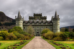 Σκωτσέζικο κάστρο Στοκ εικόνα με δικαίωμα ελεύθερης χρήσης